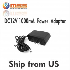 DC 12V Power Supply Adapter 1000mA PS-100
