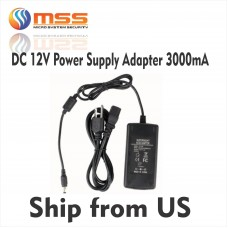 DC 12V Power Supply Adapter 3000mA PS-123A