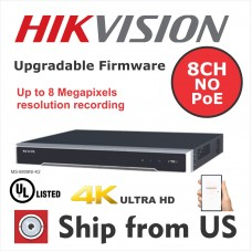 32CH NVR NO POE 4K 8MP 4 SATA UL LISTED Hikvision OEM MS-9732NI-K4 NO HDD